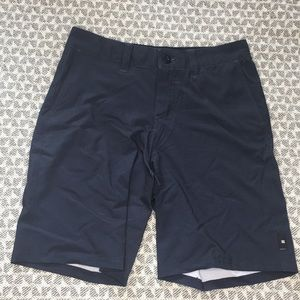 NWOT DC navy blue boardshorts 27